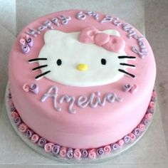 Girls birthday cakes ideas