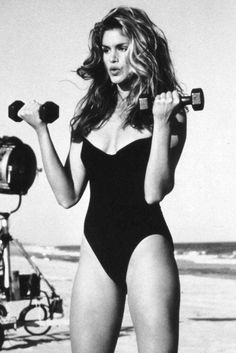 beauty, cindy crawford, and model image
