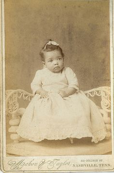 https://flic.kr/p/9qh7HV | African  American  Child | Cabinet photos purchased at the the 28th annual DC photo show