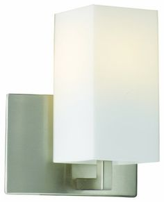 Forecast Lighting F451536 Avenue 1 Light Wall Sconce, Satin Nickel by Philips. $89.00. Forecast Lighting F4515-36 Avenue collection offers a soft clean look with it's etched White Opal square glass and Satin Nickel finish in this 1 light wall sconce.