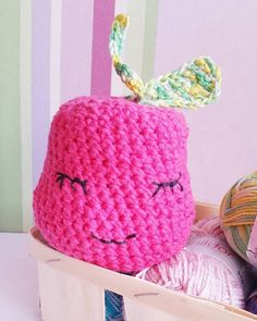 Pomme réalisée en crochet / amigurumi / Knitting