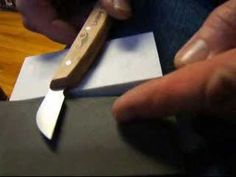 Chip Carving 108 - How to sharpen your knife!