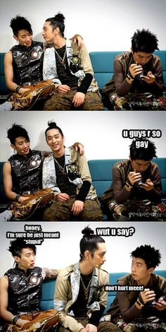 2PM!!!!! Love it!!! #kpop .. Funny ChanSung.. Look @ Woo Young's Face..