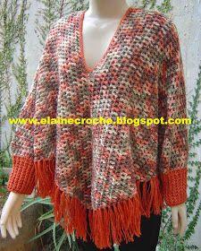 Body Wraps, Boho, Shawls, Crochet Poncho, Shawl, Long Scarf, Blouses, Crochet Stitches, Dots