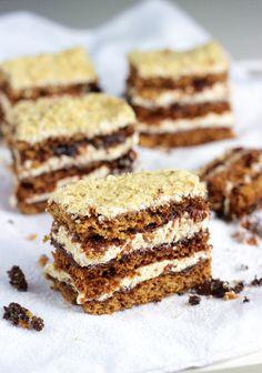 Ciasto CZESKIE Miodownik Food Cakes, Tiramisu, Food To Make, Cake Recipes, Paleo, Food And Drink, Baking, Sweet, Ethnic Recipes