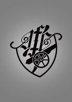 Arsenal FC Logo Rethink & Tattoo on Behance
