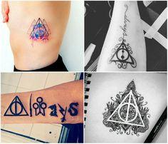 Mademoiselle Loves Books: Ideias de tatuagens para quem ama Harry Potter