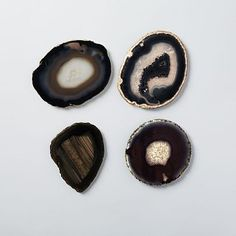 Agate Coasters #westelm  Need to frame these in shadow box frames!