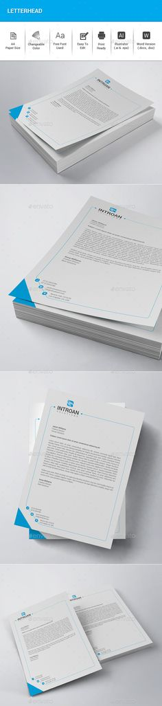 Corporate Letterheads vol3 Letterhead - letterhead example