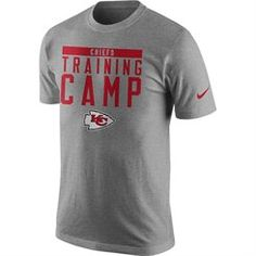 Nike Kansas City Chiefs Gray Training Camp Legend Performance T-Shirt