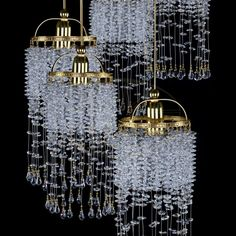 Modern art glass lighting by Modern Lighting, Lighting Design, Crystal Pendant Lighting, Modern Art, Contemporary, Glass Art, Chandelier, Ceiling Lights, Crystals