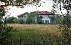 HOWEY MANSION Inside still looks intact, but it needs a lot of work.