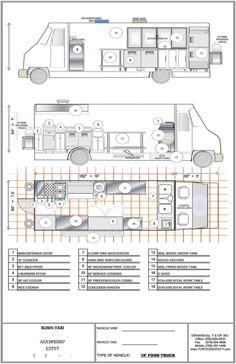 Food Truck Floor Plans Images -