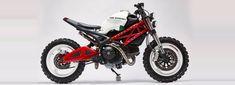 ducati monster 696 custom motorcycle by vida bandida