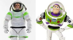 NASA Buzz Lightyear Suit - Named one of Time magazine's inventions of the year, the suit is designed to take astronauts into long missions into deep space. My childhood dream of being an astronaut is slowly coming back... (: