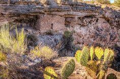Montezuma well national monument Dwelling By LeeAnn McLaneGoetz McLaneGoetzStudioLLC.com Montezuma well national monument is a natural limestone sinkhole near the town of Rimrock, Arizona. Cliff dwellings perched along the rim were home to the Sinagua culture. #Montezuma Well