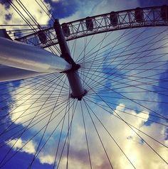 The London Eye...