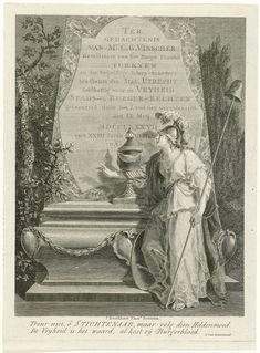 Monument ter nagedachtenis aan Cornelis Govert Visscher, 1787, Franciscus Sansom, IJsbrand van Hamelsveld, Jacobus Bronkhorst, 1787