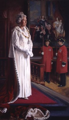 H M The Queen, Patron of the Royal Society of Portrait Painters