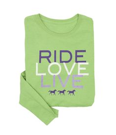 The Hitching Post Tack Shop- Ride Love Live Long Sleeve Tee