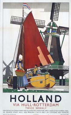 Holland via Hull Rotterdam aug16