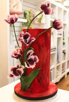 Pretty Floral Cake - dearJulius - Google+