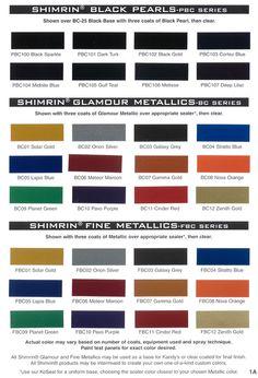 108 Best Auto Paint Colors Codes Images Paint Color