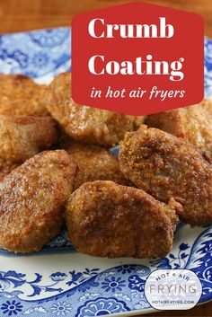 How to make crumb coatings (such as Shake 'N' Bake) really sizzle in your Actifry.  #Actifry http://www.hotairfrying.com/crumb-coating-in-hot-air-fryers/