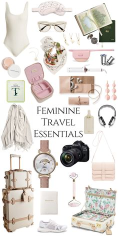 Fashion Tips Ideas My Favorite Travel Accessories and Essentials.Fashion Tips Ideas My Favorite Travel Accessories and Essentials Travelling Tips, Packing Tips For Travel, Travel Guide, Travel Hacks, Packing Hacks, Smart Packing, Travel Packing Outfits, Packing List Beach, Carry On Packing