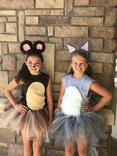 Tom and Jerry diy costume, cheer camp, Tu-Tu