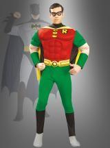 Robin und Batman sind ein tolles Team. Super Partnerkostüme für Karneval und Mottoparty