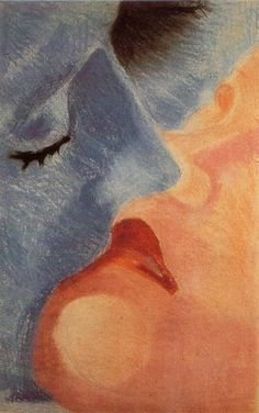 The Kiss, Robert Delaunay, (1885 - 1941)