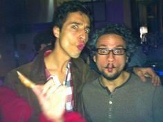 Fran Gil Ortega and me. Carapez/Fishface