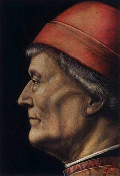 Portrait of an Elderly Gentleman, c. 1500  VINCENZO FOPPA (Bagnolo Mella, 1427 circa – 1515 circa)    #TuscanyAgriturismoGiratola