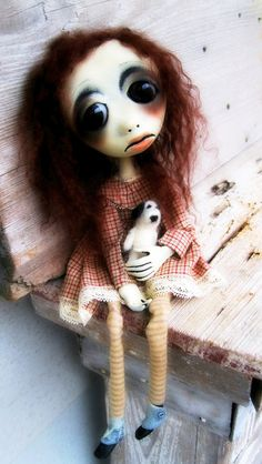 Loopy Art Doll OOAK Bethany by loopyboopy on Etsy, $300.00