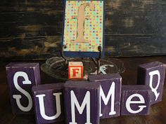 "The Creative Homemaker: ABC Summer ""F"" Day"
