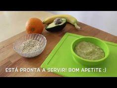DIY Papa caseira de fruta e aveia (Ep. 8) - YouTube
