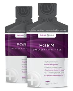 THRIVE Plus SGT Form - Collagen Supplement - Form features Sequential Gel Technology with our proprietary Hydrolyzed Collagen Protein and delivery system.