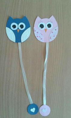 Craft Stick Crafts, Felt Crafts, Crafts To Make, Crafts For Kids, Paper Crafts, Felt Bookmark, Bookmark Craft, Origami Bookmark, Homemade Bookmarks