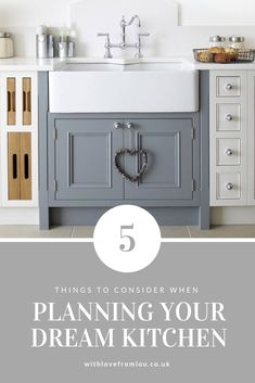 5 Things To Consider For Your Dream Kitchen - With love from Lou Affordable Home Decor, Home Decor Inspiration, Decor Ideas, Home Hacks, Home Organization, Home Projects, Living Room Decor, Diy Home Decor, Home Goods