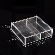 Amazoncom Deluxe 7drawer Acrylic Jewelry Chest or Cosmetic
