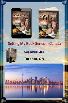 In Captured Lies, Bailey is trying to discover the truth about who she is. The clues have now led her to Ontario. She has just landed at the airport. Unfortunately the person not wanting her to discover the truth, is one step ahead of her. #canada #travelcanada #suspensebooks #torontoontario Mystery Series, Canada Travel, Book Series, Ontario, Thriller, Toronto, My Books, Journey, Led
