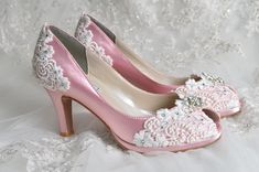 Wedding Shoes  Wedding Accessories  Custom 250 Color by Pink2Blue, $175.00
