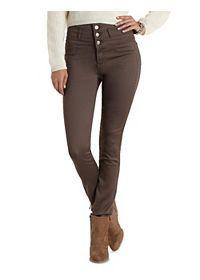 """Refuge """"Hi-Waist Super Skinny"""" Colored Jeans"""
