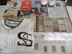 Rare Lot of 15,000  Baseball cards Vintage Mickey Mantle Babe Ruth Ty cobb VG