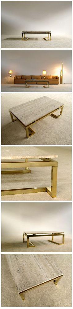 Modern rectangular elegant Regency Coffee Table #CoffeeArt