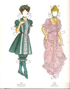 La Belle Époque (1) | Gabi's Paper Dolls