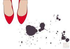 #scarpim #pumps #shoes #fashion #moda #drawing #printables #colors #red @ nanipizzolo
