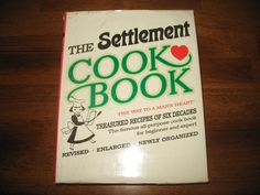 Vintage 1965 The Settlement Cookbook The Way To A Man's Heart Hardcover