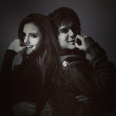 Картинка с тегом «Nina Dobrev, ian somerhalder, and the vampire diaries»
